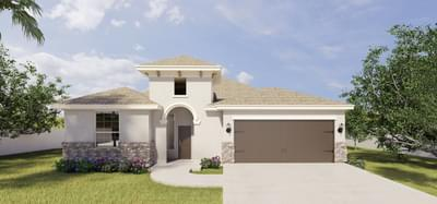 The 14208 Amistad Circle, McAllen, TX 78504 McAllen , TX New Home for Sale
