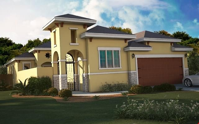 The Cenizo- Retama new home in Mission , TX