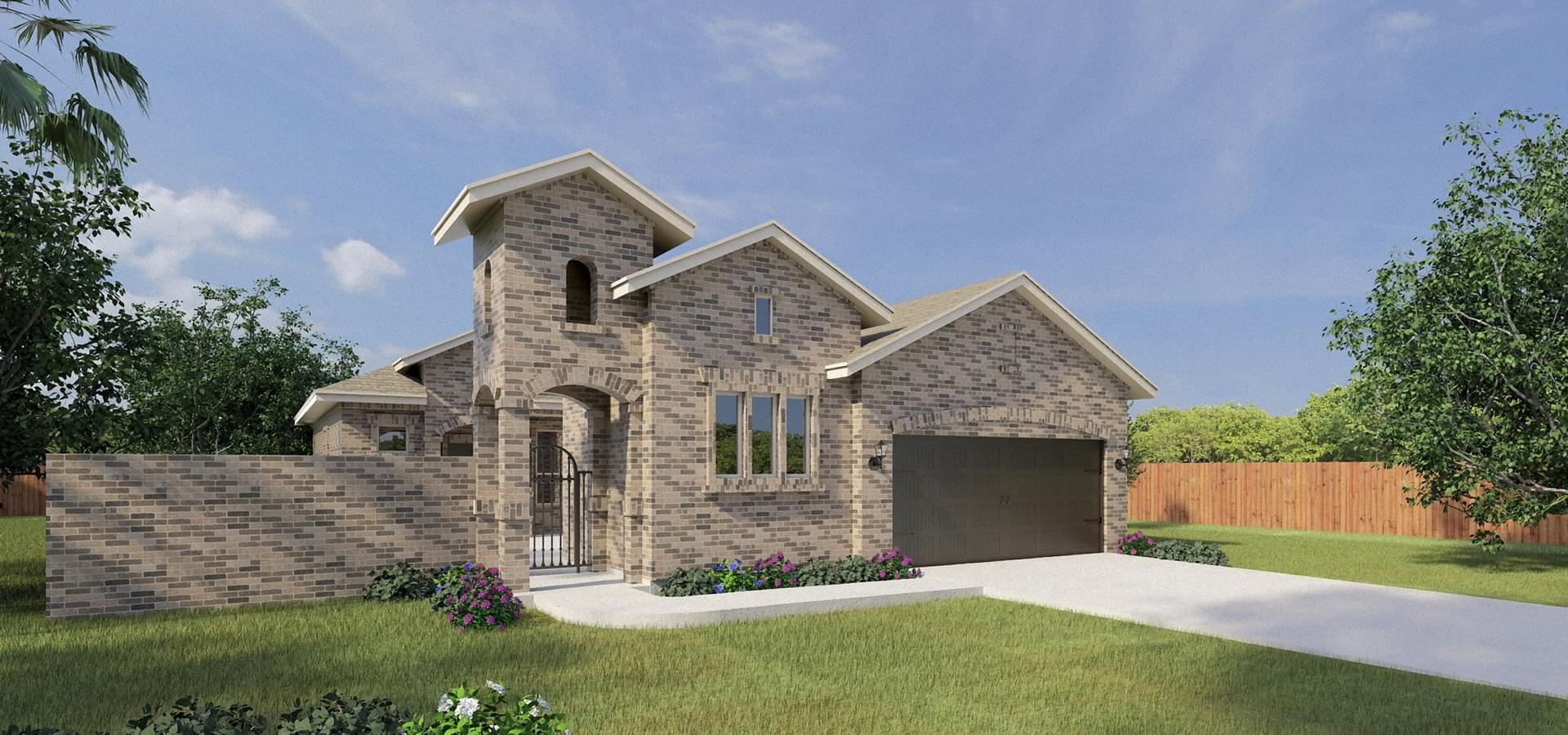 The Santa Maria new home in Edinburg , TX