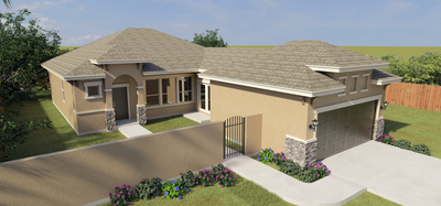 The 6305 Cascada Bend Road, McAllen, TX 78504 McAllen , TX New Home for Sale