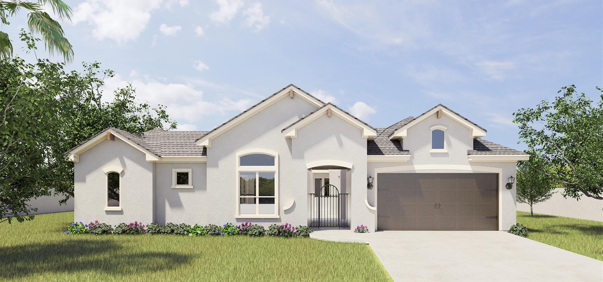 The Capistrano new home in McAllen , TX