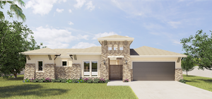 The Capistrano new home in McAllen , TX