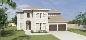The San Saba new home in McAllen , TX