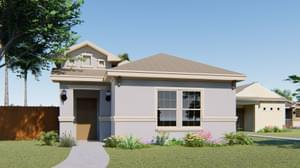 The Lantana new home in Mission , TX