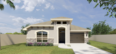 The 3408 Harvard Ave., McAllen, TX 78504 McAllen , TX New Home for Sale