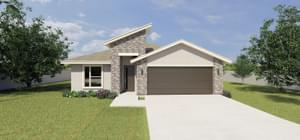 The Santiago new home in McAllen , TX