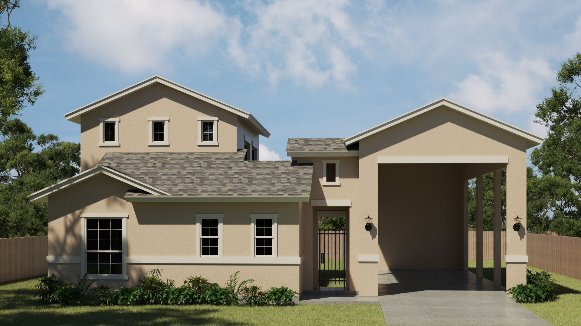 The Cypress new home in Mission , TX