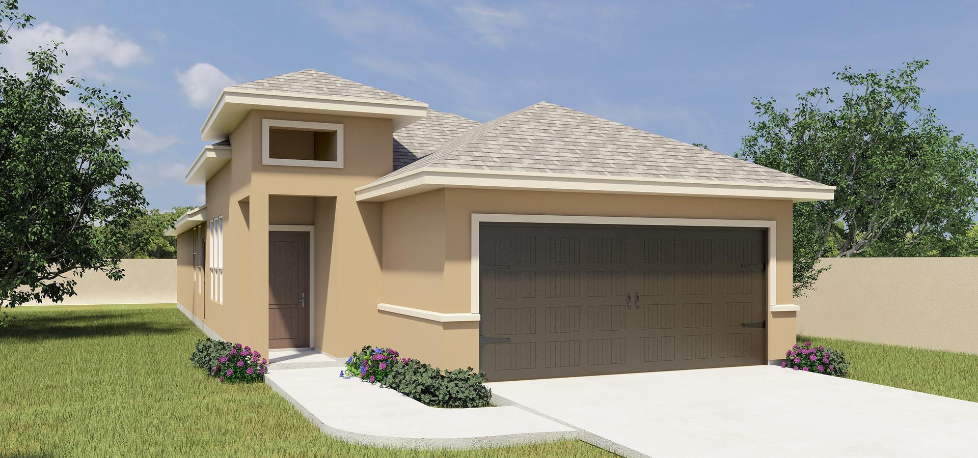 The Cortono new home in McAllen , TX