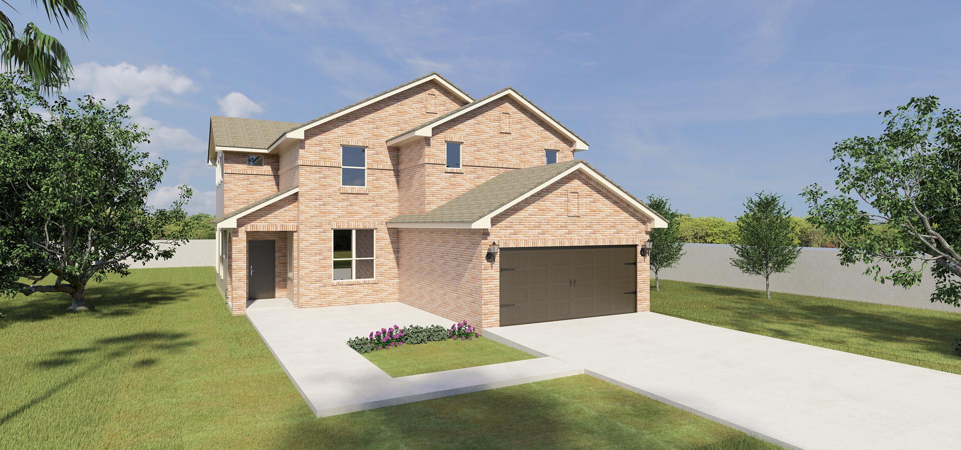 The Rosario new home in McAllen , TX