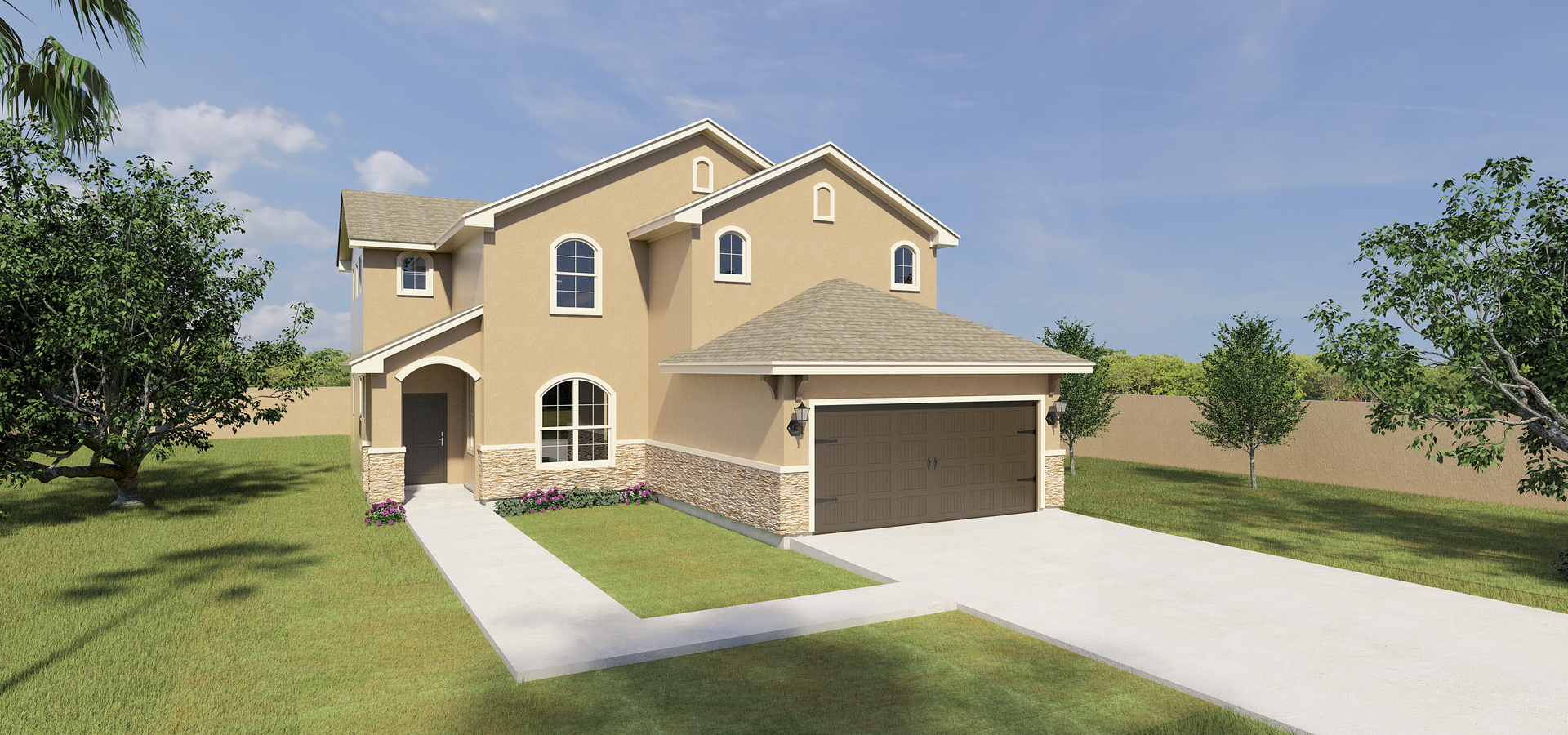 The Rosario new home in Mission , TX