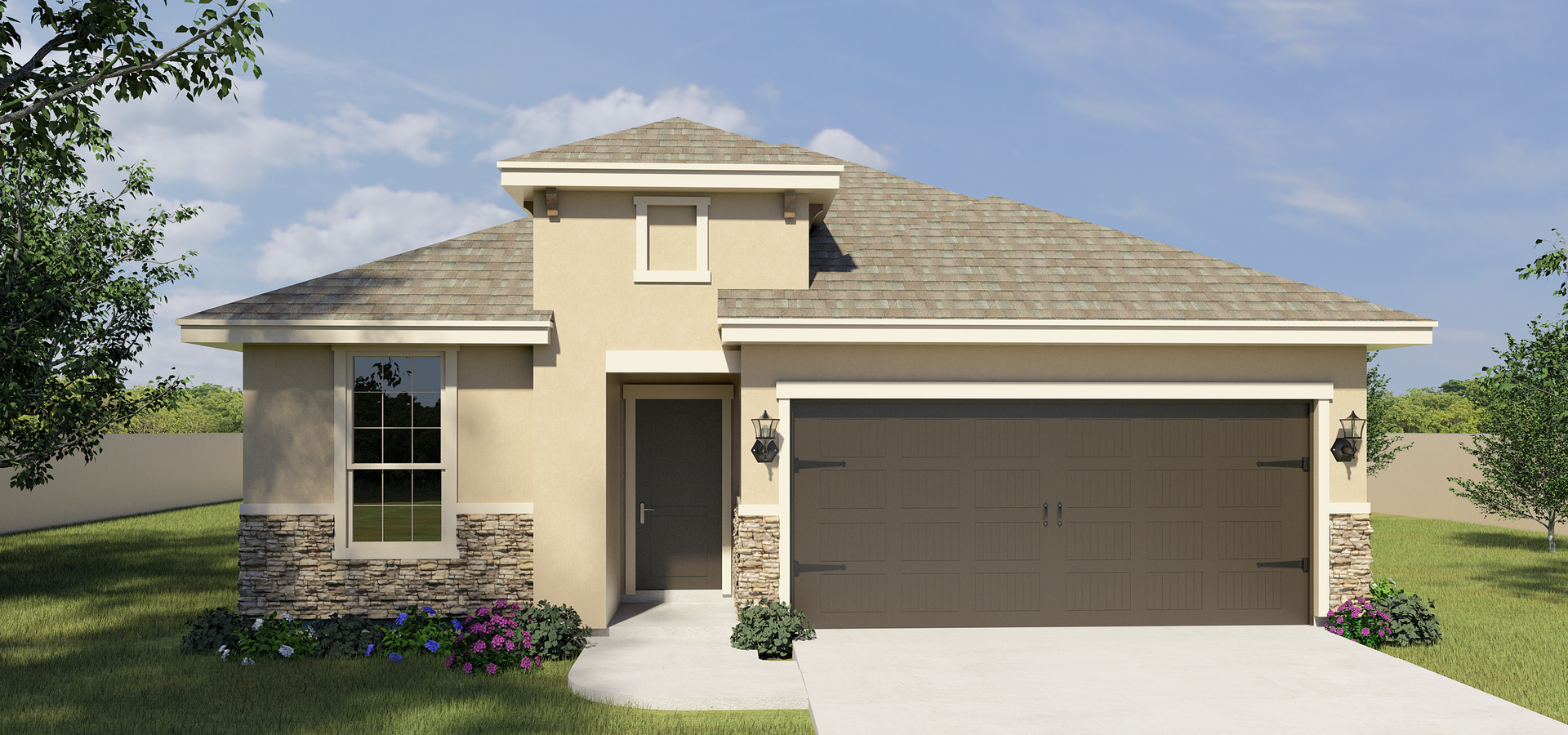 The Solano new home in Brownsville , TX