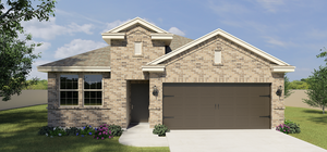 The Solano new home in Edinburg , TX