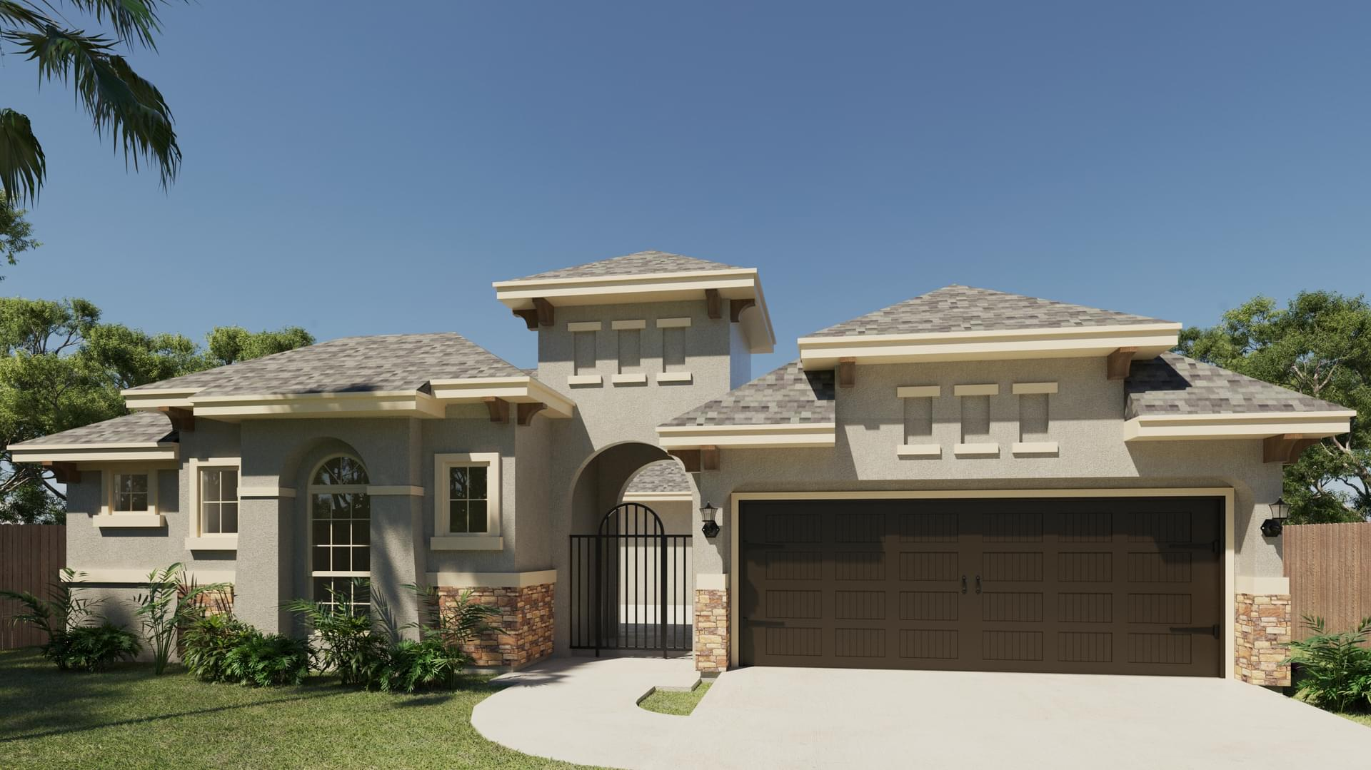 The San Juan new home in McAllen , TX
