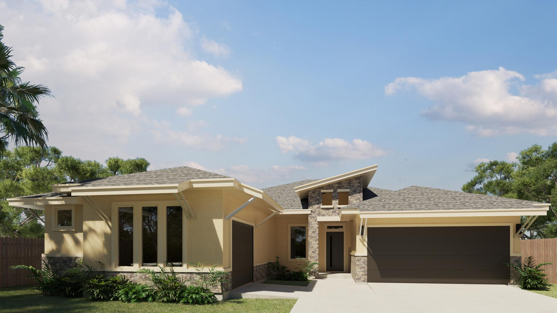 The Espada new home in McAllen , TX