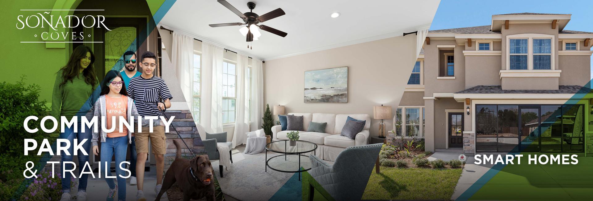 Soñador Coves New Homes in Edinburg , TX
