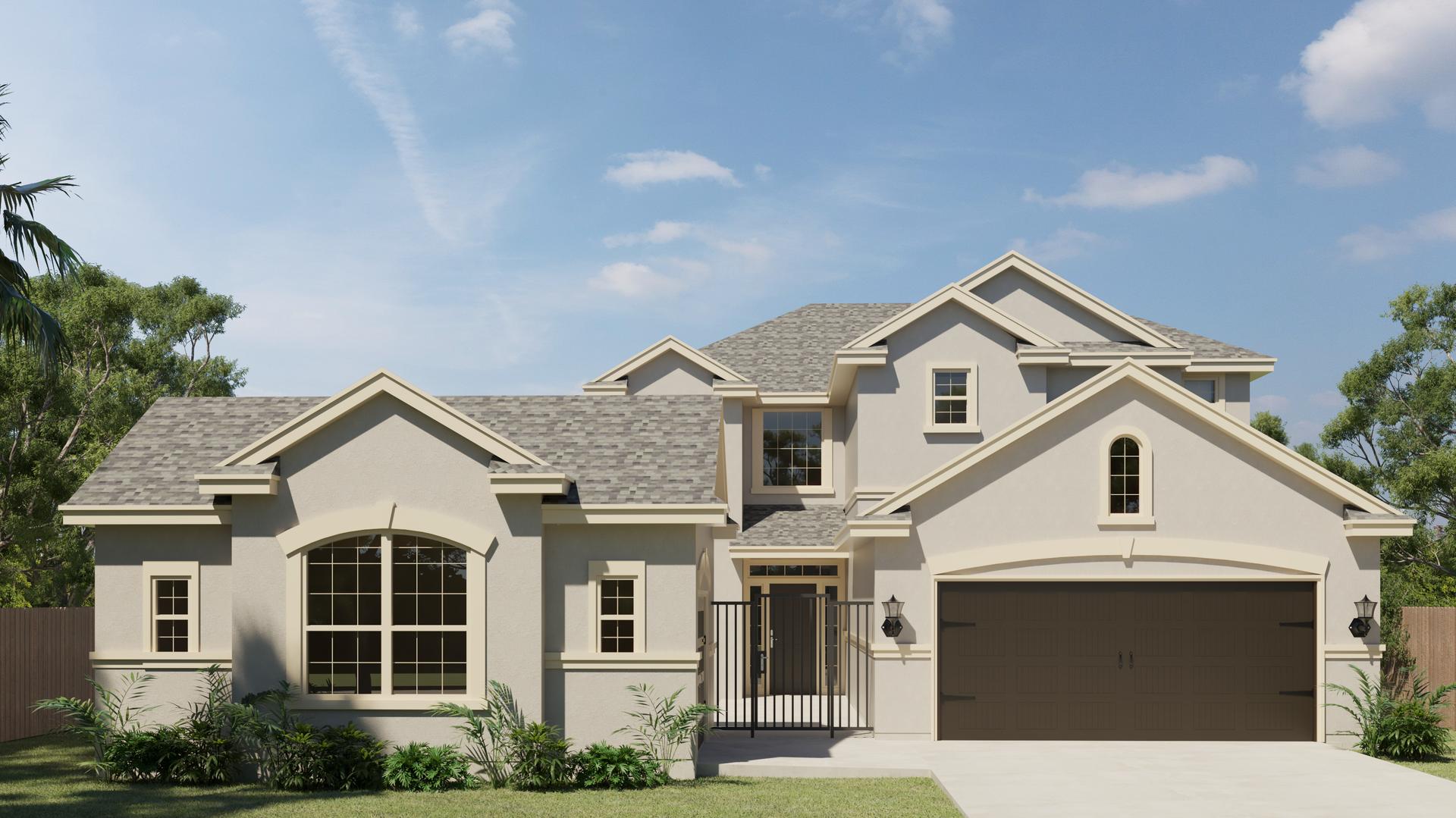 The Valero new home in McAllen , TX