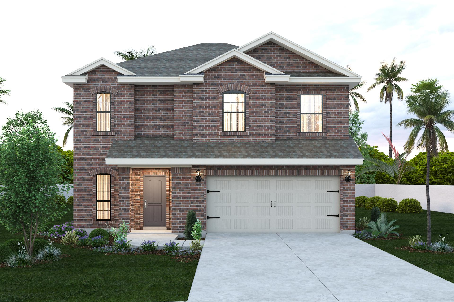 The Augustin new home in McAllen , TX