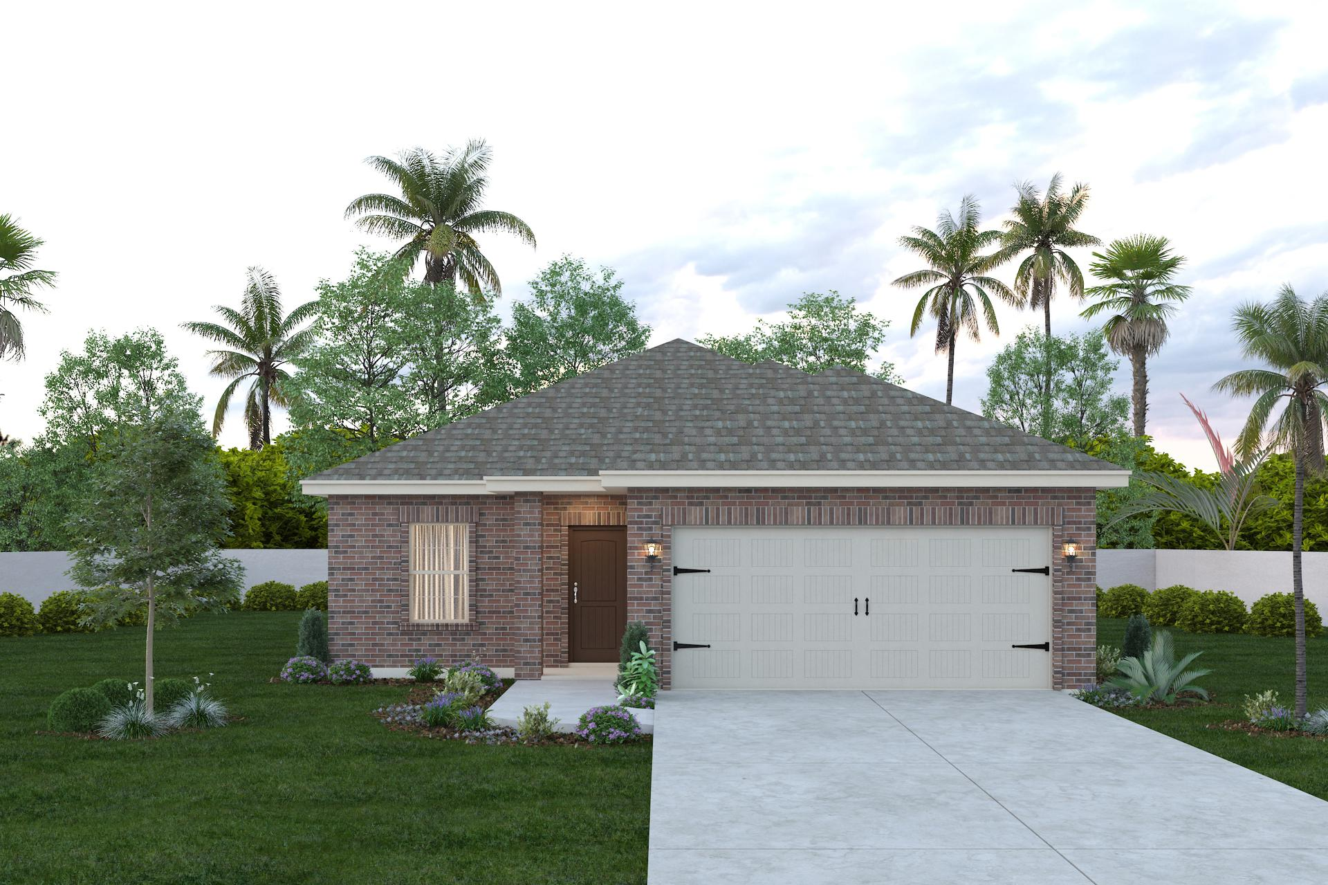 The Concho new home in Mission , TX