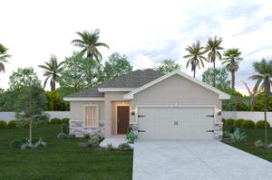 The Concho new home in McAllen , TX