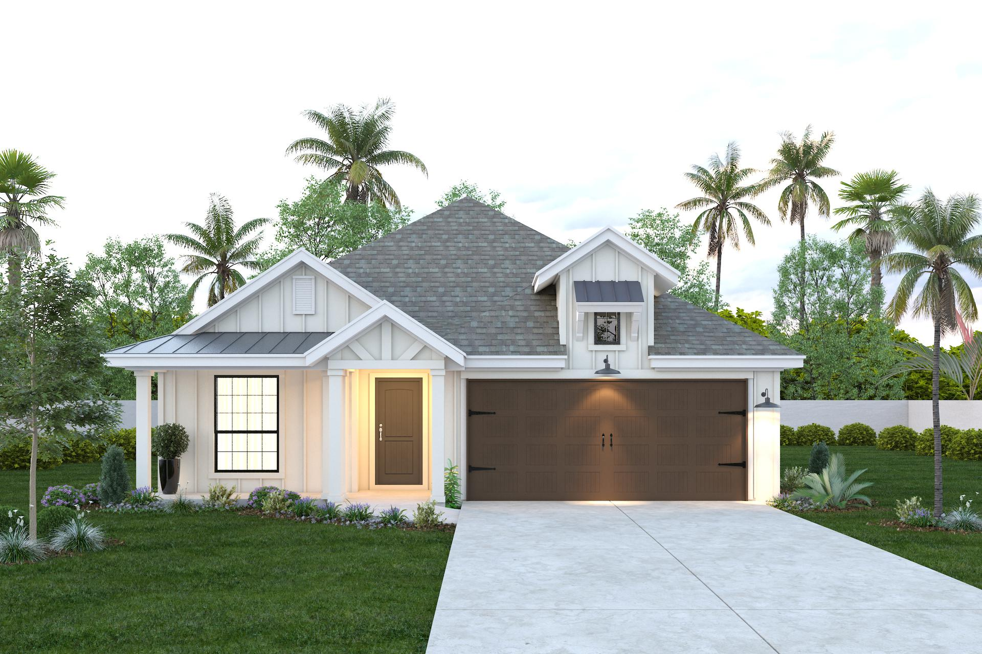 The Santiago new home in Mission , TX