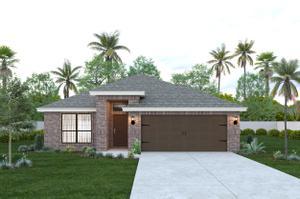The Santiago new home in McAllen , TX
