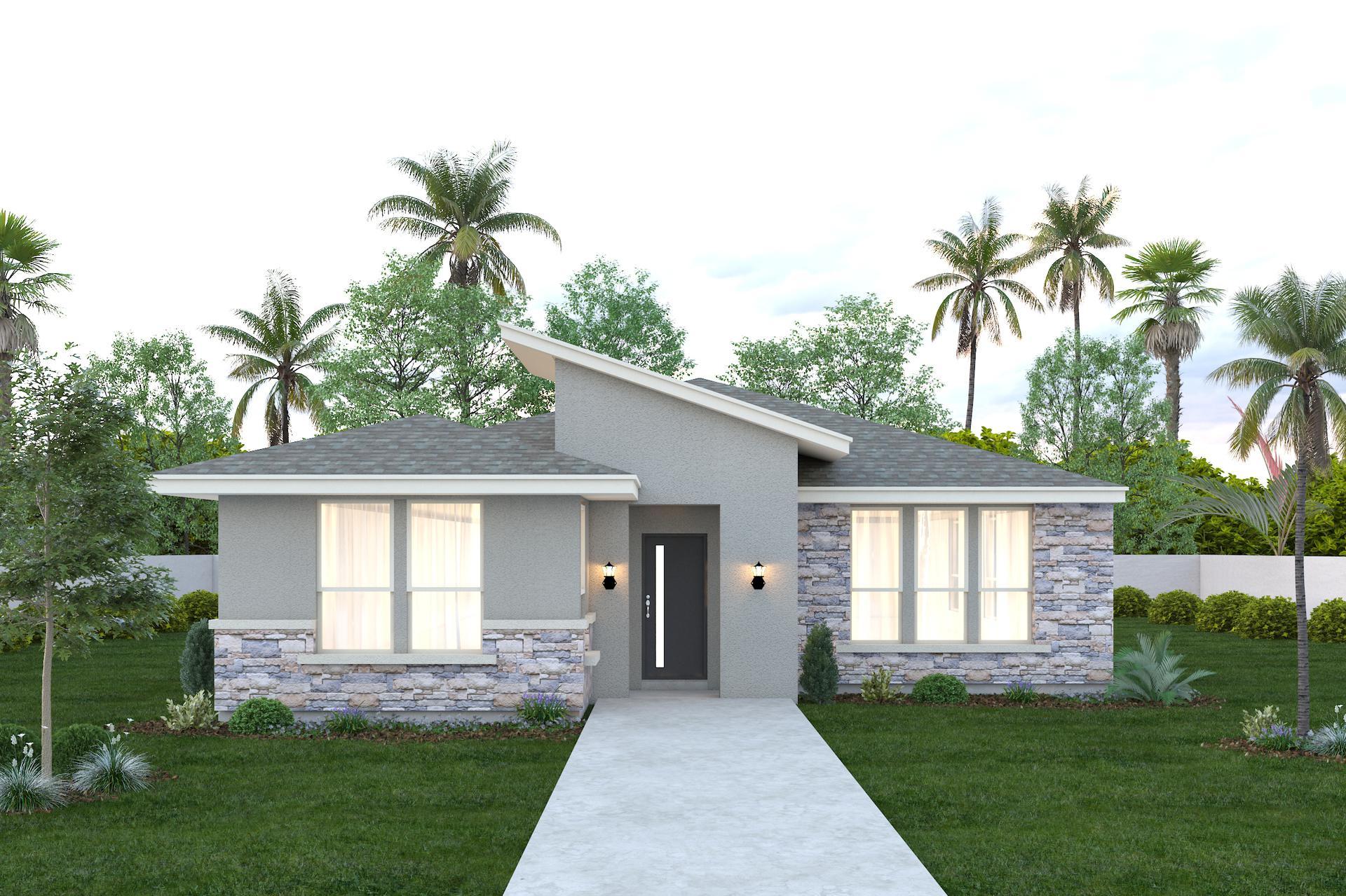 The Santa Cruz new home in Mission , TX