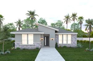 The Santa Cruz new home in McAllen , TX